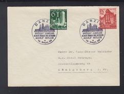 Dt. Reich Brief 1939 Sonderstempel Danzig - Brieven En Documenten