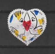 FRANCE / 2015 / Y&T N° 4924 : Coeur De Catelbajac 0.68 € (de Feuille) - Choisi - Cachet Rond - France