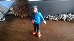 FIGURINE TINTIN BULLY PIB HADDOCK CAOUTCHOUC MOU HERGE - Tintin