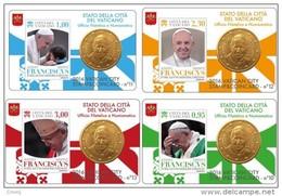 2016 -  VATICANO - STAMP&COIN CARD 2016 - Vaticano