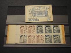 CANADA' - LIBRETTO - MEZZO DI TRASPORTO Post Office - DA 50 C.Regina, Fosforo - NUOVO(++) - Full Booklets