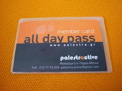 Greece Palestra Active Gym Member Card - Jeux