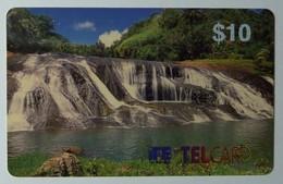 GUAM - IT&E - Remote Memory - $10 - D1 - Waterfalls - Mint - RRR - Guam