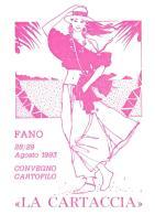 [MD0943] CPM - IN RILIEVO - FANO - CONVEGNO CARTOFILO - LA CARTACCIA - CARTE PIRATE- Non Viaggiata 1993 - Fano
