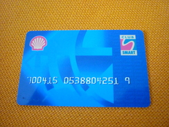 Greece Shell Smart Club Member Card - Olie