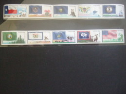 US 2012 MNH **    FLAGS OF OUR NATION NR SIX   10 X 0.45    MNH**     (1011000-357/015) - Verenigde Staten