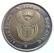 2008 - South Africa - 5 Rand - 90th Birthday Of Nelson Mandela - KM# 439 - - Sud Africa