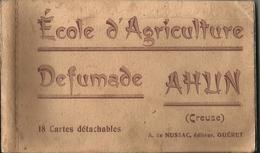 Carnet 18 Cartes Détachables AHUN - Other Municipalities