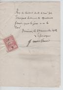 Reçu De 40 Frs Rédigé à Vieusart En 1922 PR4437 - Belgique