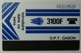 GABON - GAB3 - 1st Issue - Autelca - 3100F - MBOLO - Used - Gabon