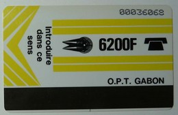 GABON - GAB4 - 1st Issue - Autelca - 6200F - SCORE - Used