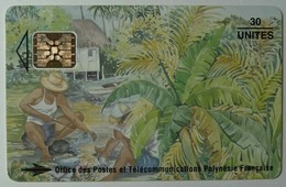 FRENCH POLYNESIA - Afnor - 30 Units - Schlumberger - Used
