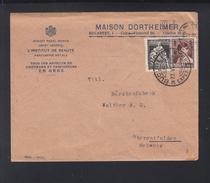 Romania Cover 1929 Maison Dortheimer To Switzerland - 1918-1948 Ferdinand, Charles II & Michael