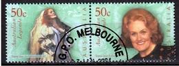 Australie Mi 2279,2280 Paar Gestempeld Fine Used - Gebruikt