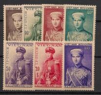 Vietnam - 1954 - N°Yv. 22 à 28 - Prince Bao-Long - Neuf Luxe ** / MNH / Postfrisch - Viêt-Nam