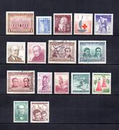Chile    1962-65  .-   Y&T  Nº   297-298-299-300-301-302/303-304/306-307-308-309-310-311-312 - Chile