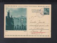 Böhmen Und Mähren Bild-PK 1942 Gelaufen - Besetzungen 1938-45