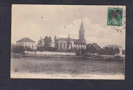Padoux (Vosges 88) - Eglise Et Presbytere ( Impr. Reunies De Nancy) - Autres Communes