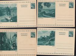 Lot Bildpostkarten Böhmen Und Mähren Ungebraucht - Bezetting 1938-45
