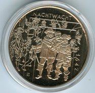 Médaille Jeton Pays-Bas Netherland Rembrandt Van Rijn - Nachtwacht Ronde De Nuit 1642 - Pays-Bas