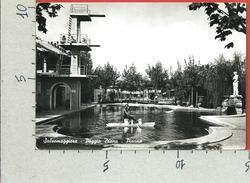 CARTOLINA VG ITALIA - SALSOMAGGIORE TERME (PR) - Poggio Diana - Piscina - 10 X 15 - ANN. 1954 - Parma
