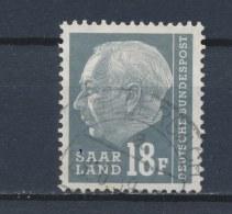 Duitsland/Germany/Allemagne/Deutschland Saarland 1957 Mi: 416 (Gebr/used/obl/o)(2019) - 1957-59 Bondsland