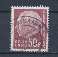 Duitsland/Germany/Allemagne/Deutschland Saarland 1957 Mi: 422 (Gebr/used/obl/o)(2020) - 1957-59 Bondsland