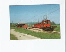 TRAIN MIXTE AU DEPART DE GIVRINS (VAUD) EN MAI 1978 LIGNE NYON-ST CERGUE-MOREZ 2587 - VD Vaud