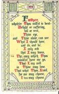 Father, Whate'er Thou Will'st Is Best- Delight Or Suffering, Toil Or Rest, Thine Eye, . . . . . . Slight Crease - Christianity