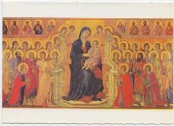 """Siena, Opera Del Duomo, The """"Maesta"""" Of Duccio Di Buoninsegna, Unused Postcard [19970] - Paintings, Stained Glasses & Statues"""
