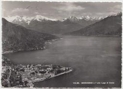MENAGGIO E L' Alto Lago Di Como, Used Real Photograph Postcard [19980] - Como