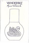 PUBLICITE - Parfum VANDERBILT - Werbepostkarten