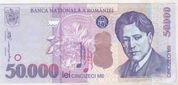 Romania 50000 Lei 2000 Banknote , Circulated - Romania