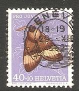 001099 Switzerland Pro Juventute 1952 40c FU - Pro Juventute
