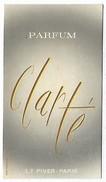 PUBLICITE - Parfum CLARTE - Carte 9 X 5 Cm - Werbepostkarten