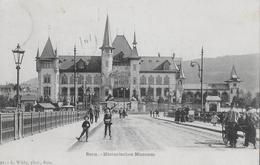 BERN → Historisches Museum Mit Vielen Passanten Anno 1902  ►mit Balkenstempel BERN◄ - BE Bern