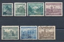 Böhmen Und Mähren/Bohemian & Moravia/Boheme & Moravie 1940 Mi: 55-61 Yt:  (Gebr/used/obl/o)(2030) - Bohemia & Moravia