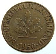 1950 - Germany 5 Pfennig - (G) - KM# 107 - [ 5] 1945-1949 : Occupazione