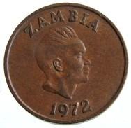 1972 - Zambia 1 Ngwee  - KM# 9 - Zambia