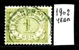 OLANDA - HOLLAND - Nederlandsch  Indie - Year 1902 - Usato - Used. - Niederländisch-Indien
