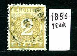 OLANDA - HOLLAND - Nederlandsch  Indie - Year 1883 - Usato - Used. - Niederländisch-Indien