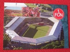 Nurnberg Norimberga 1.fcn Kampfbahn Franken Stadium Cartolina Stadio Postcard Stadion AK Carte Postale Stade Estadio - Voetbal