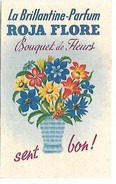 PUBLICITE - Parfum ROJA FLORE - Carte 8.5 X 5.5 Cm - Werbepostkarten