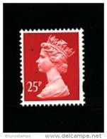 GREAT BRITAIN - 1993  MACHIN  25p.  PCP  MINT NH  SG Y1689 - 1952-.... (Elizabeth II)