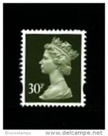 GREAT BRITAIN - 1993  MACHIN  30p.  HARRISON  2B  MINT NH  SG Y1694 - 1952-.... (Elizabeth II)