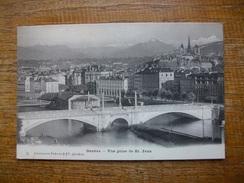 Suisse , Genève , Vue Prise De St Jean - GE Genève