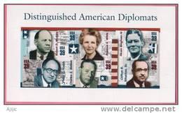 Grands Diplomates Americains ( Robert Murphy, Hiram Bingham,Charles Bohlen  WW II, Etc) 6 T-p Neufs ** - WW2