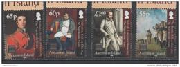 ASCENSION ,2015,NAPOLEON,BRITISH SETTLEMENT,PART III,  4v - Napoléon