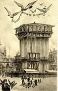 VENEZIA - Un Ricordo E Un Saluto Da Venezia / Il Campanile é In Costruito, 28.10.1907 - Venezia (Venedig)