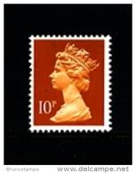 GREAT BRITAIN - 1990  MACHIN  10p.  PCP  MINT NH  SG  X940 - 1952-.... (Elisabetta II)